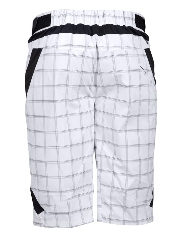 Zoic Antidote Plaid Shorts - White Square