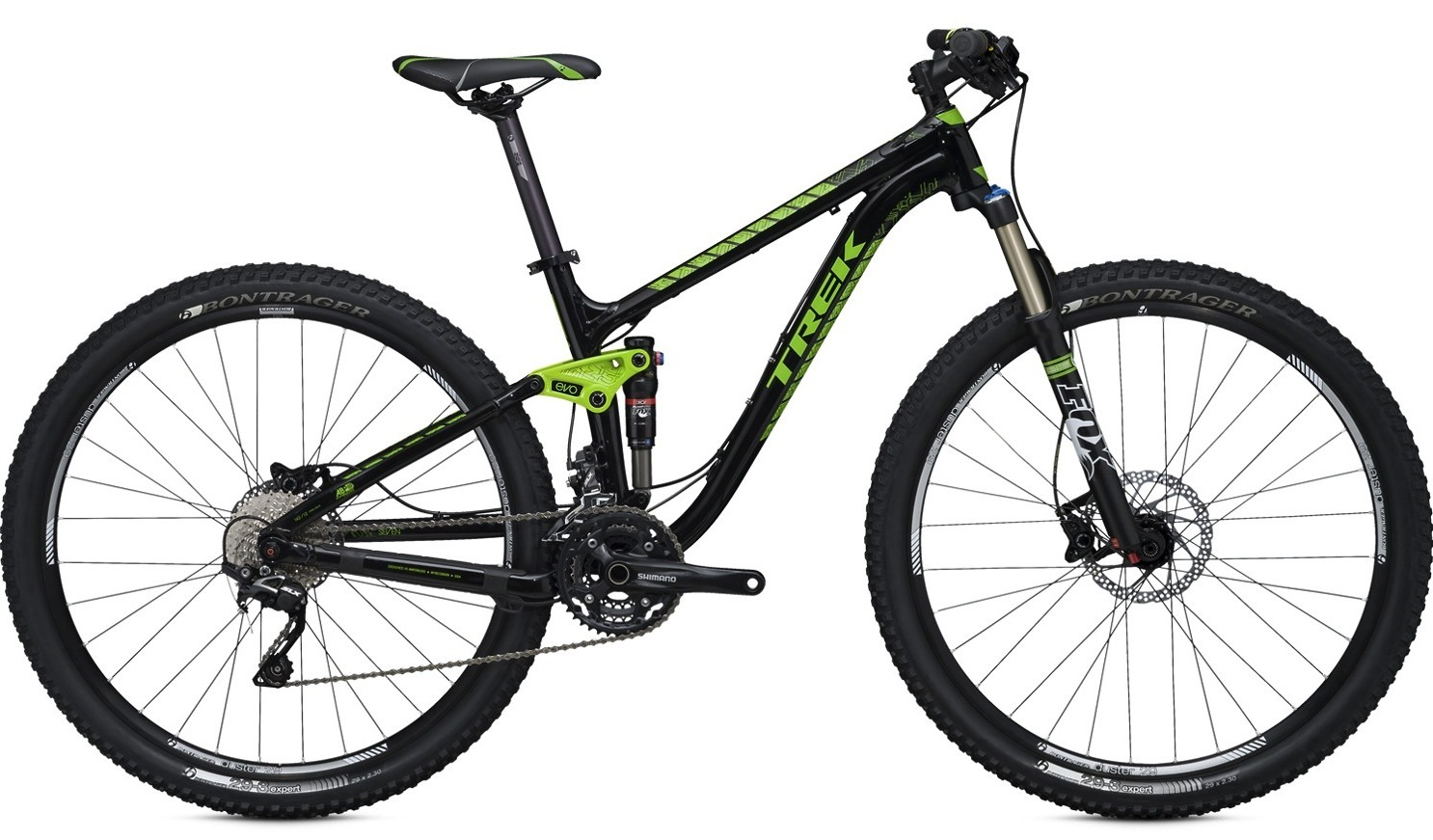 bike - 2014 Trek Fuel EX 7 29
