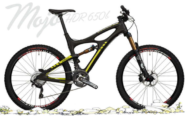 Bike - Ibis Mojo HDR 650B with Shimano SLX Build (Black)