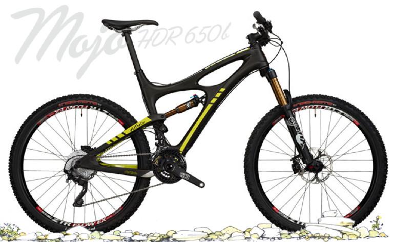Bike - Ibis Mojo HDR 650B with Deore XT Build (black)