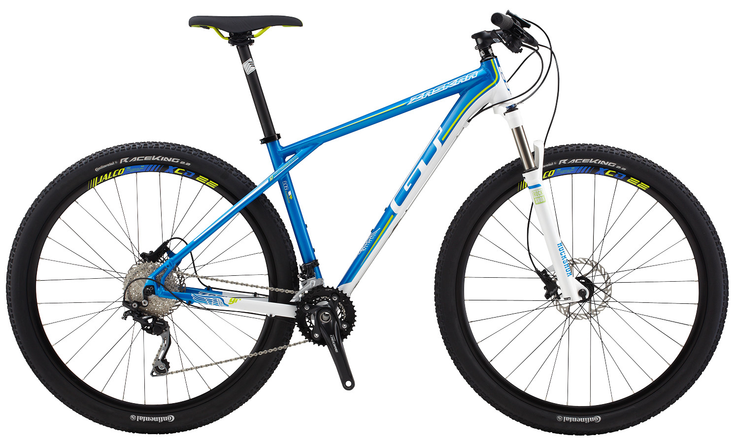 """GT Zaskar 9R Sport Alloy Mountain Bike Bicycle Cycling Frame Black White XL 29/"""""""