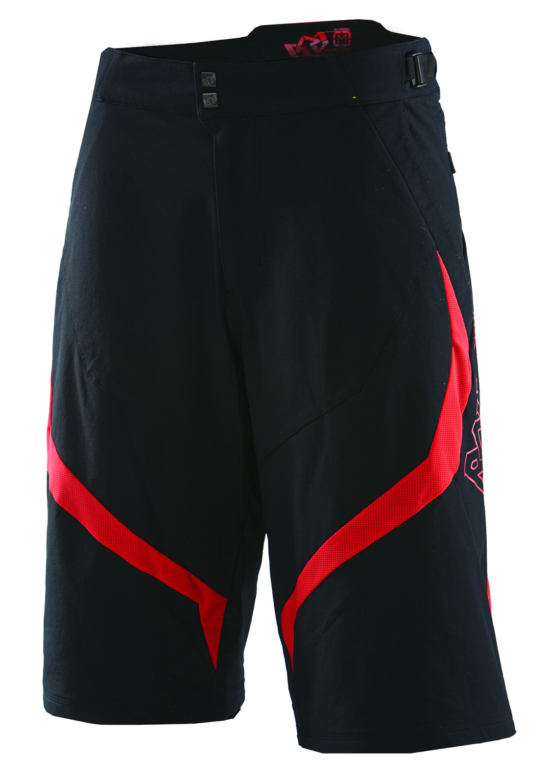 turbulance short black red f