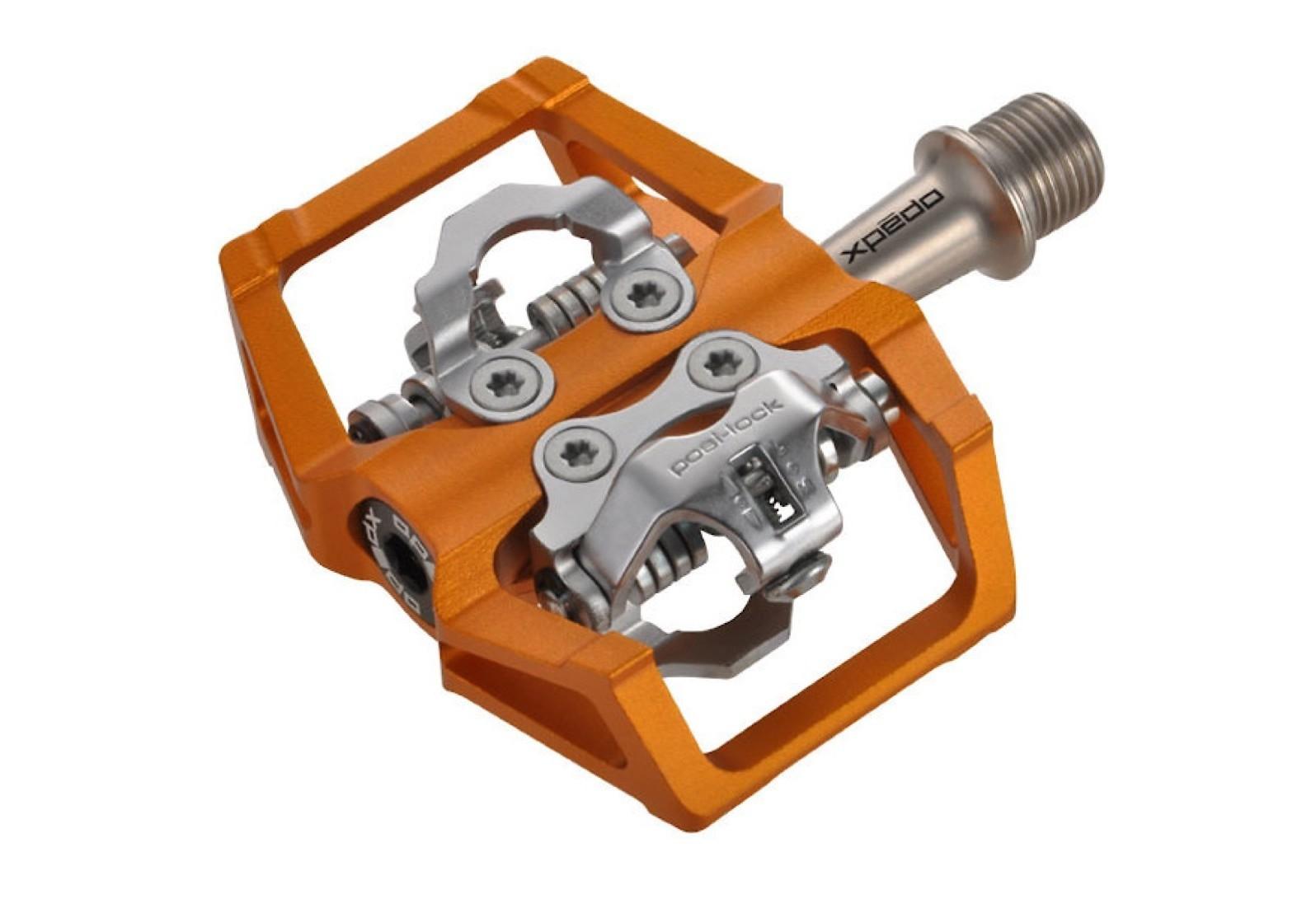 Xpedo Baldwin Clipless Pedal (orange)
