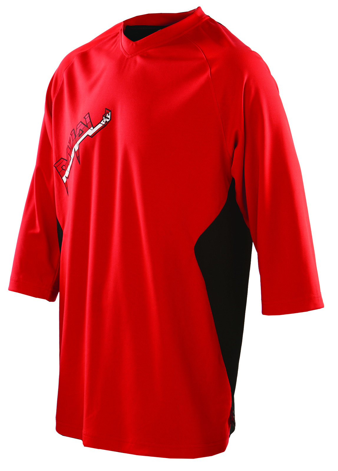 fade jersey red black f