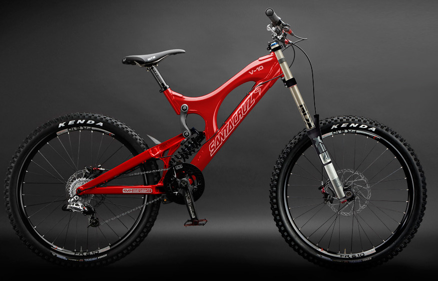 Continental Bike Tires >> 2010 Santa Cruz V10 Downhill Bike - Reviews, Comparisons, Specs - Mountain Bikes - Vital MTB
