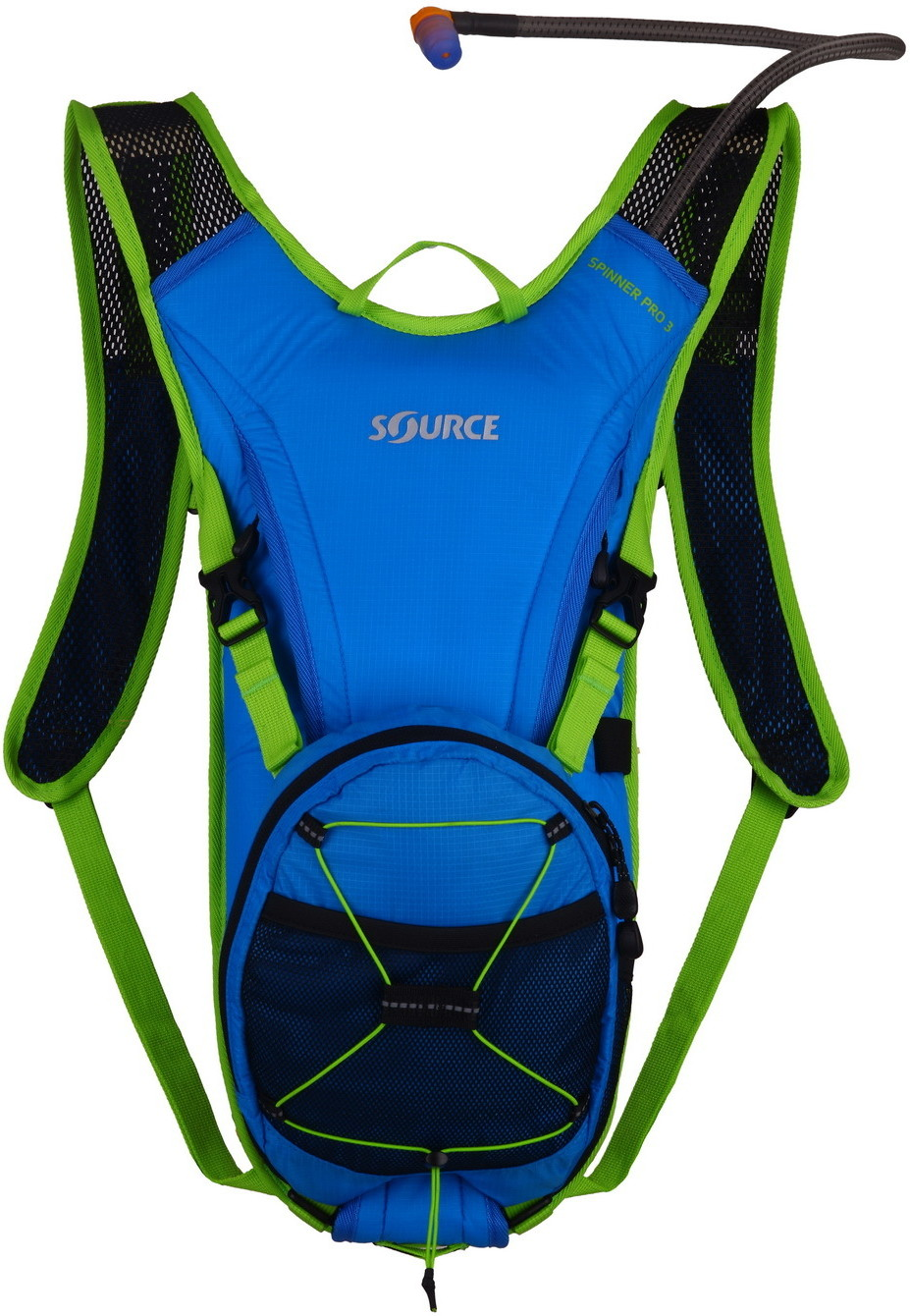Source Spinner Pro Hydration Pack Blue-Green