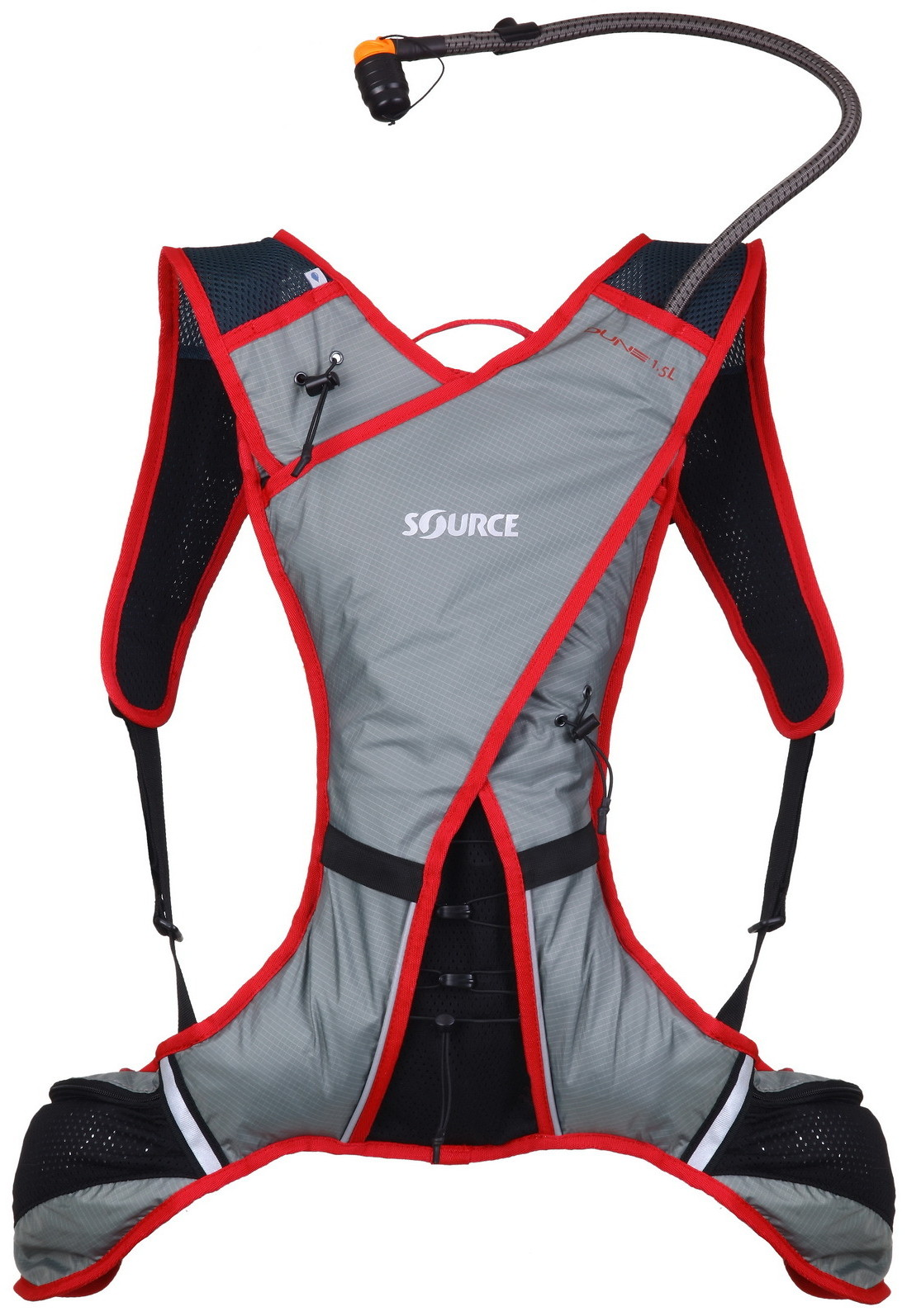 Source DUNE Extreme Sport Hydration Pack Dark Red