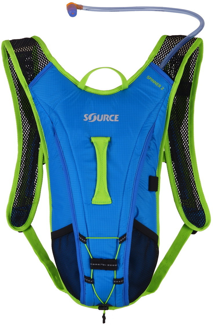 Source Spinner Hydration Pack Blue-Green