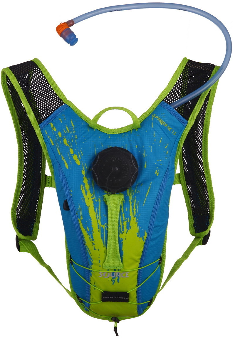 Source Spinner NC Hydration Pack 1.5L Kids Blue-Green