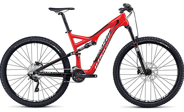 STUMPJUMPER FSR COMP CARBON 29 - Gloss Red:Black:White