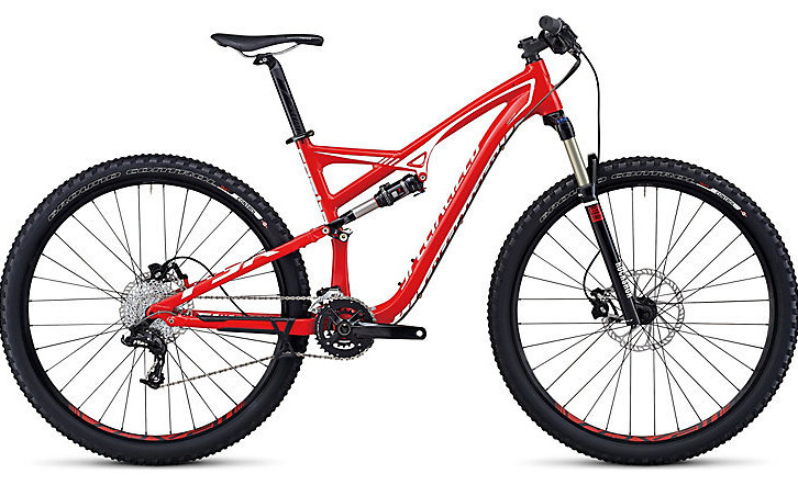 2014 Specialized Camber Comp 29 Bike - Gloss Red:White