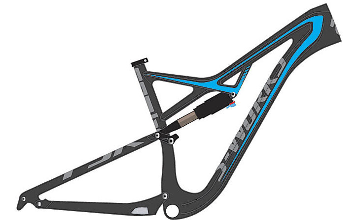 2015 Specialized S-Works Camber 29 Frame