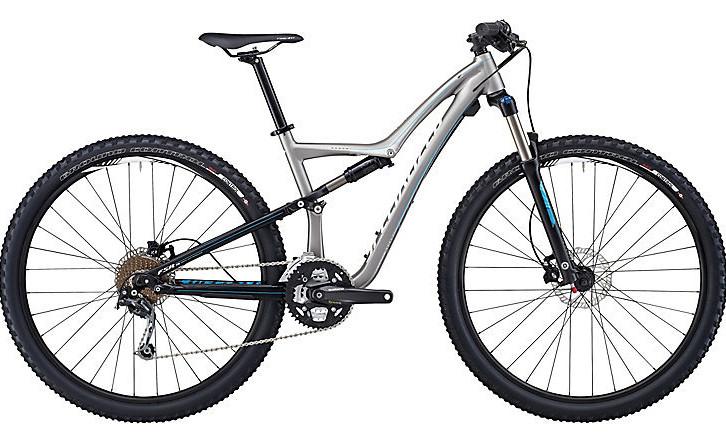 Bike - Specialized Rumor  - Semi-Satin Silver:Black:Cyan