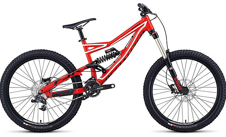 Bike - Specialized Status I - Gloss Red:White:Black