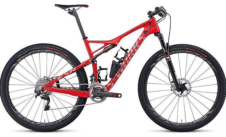 Bike - Specialized S-Works Epic - Gloss Red:Silver:Black