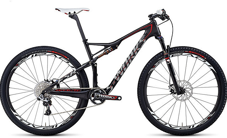 Bike - Specialized S-Works Epic World Cup - black