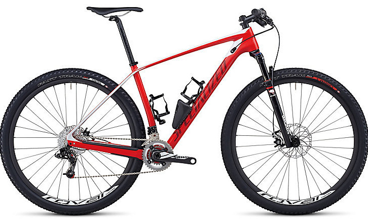 Bike - 2014 Specialized Stumpjumper Marathon Carbon HT  - Gloss Red