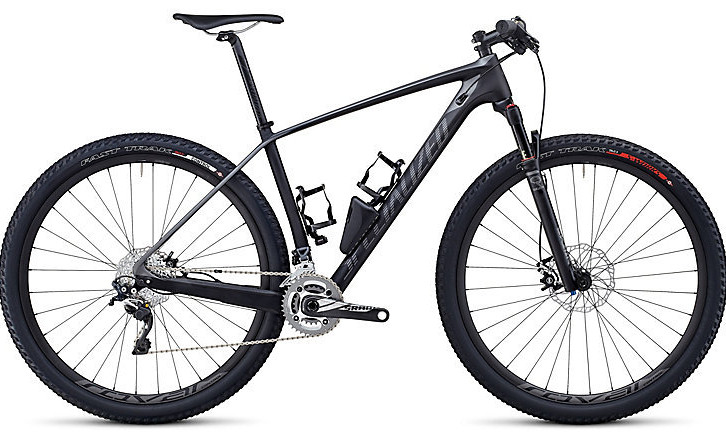 Bike - 2014 Specialized Stumpjumper Expert Carbon HT - carbon