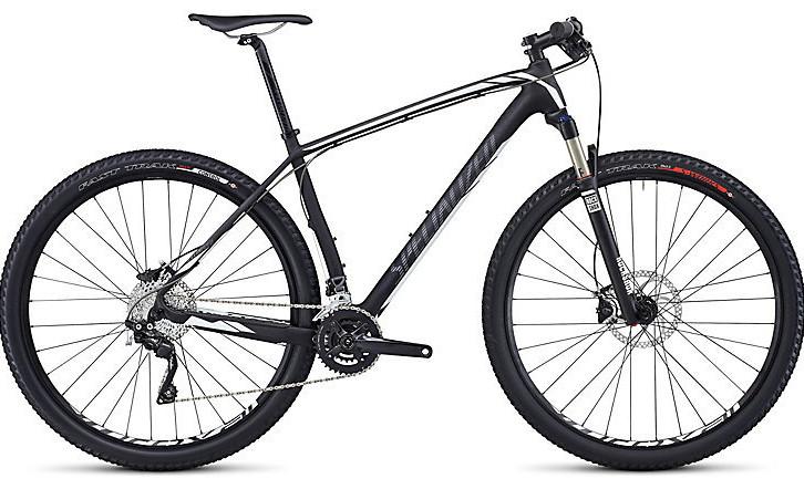2014 Specialized Stumpjumper Comp Carbon HT Bike - carbon