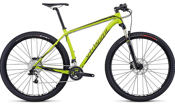 Bike - 2014 Specialized Stumpjumper Comp HT  - Gloss Hyper Green:Black