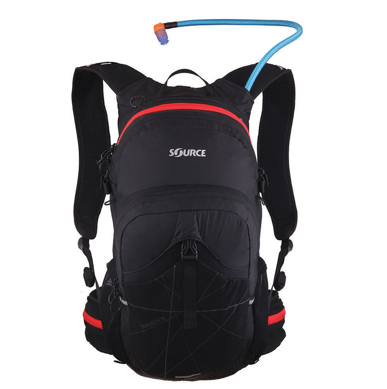 Paragon 25L Hydration Pack Black Red