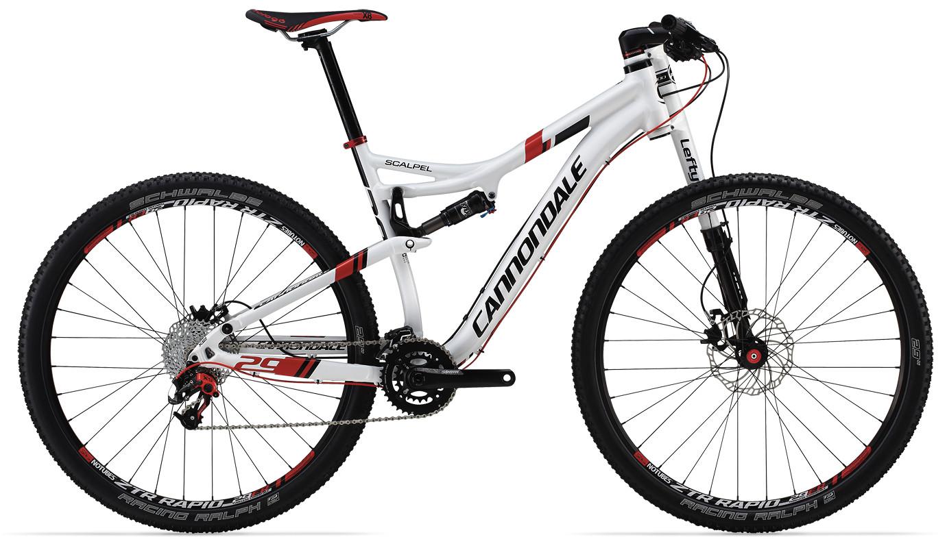 2014 Cannondale Scalpel 29 3 Bike