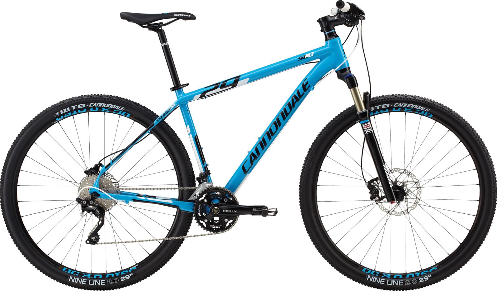 bike - 2014 Cannondale Trail SL 29 1 - blue