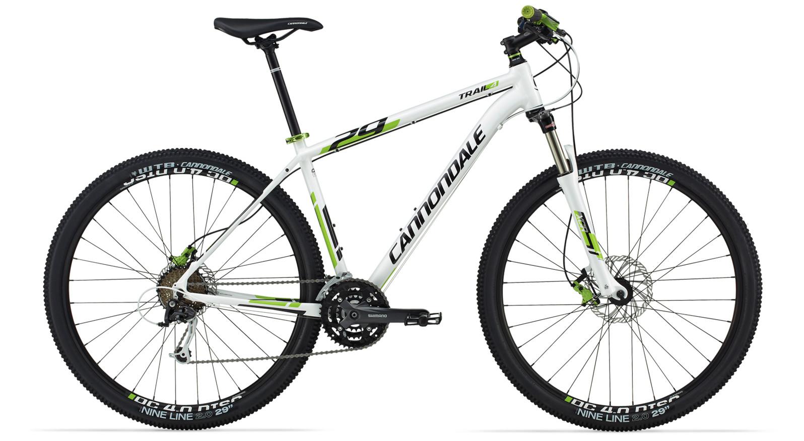 bike - 2014 Cannondale Trail 29 4 - White