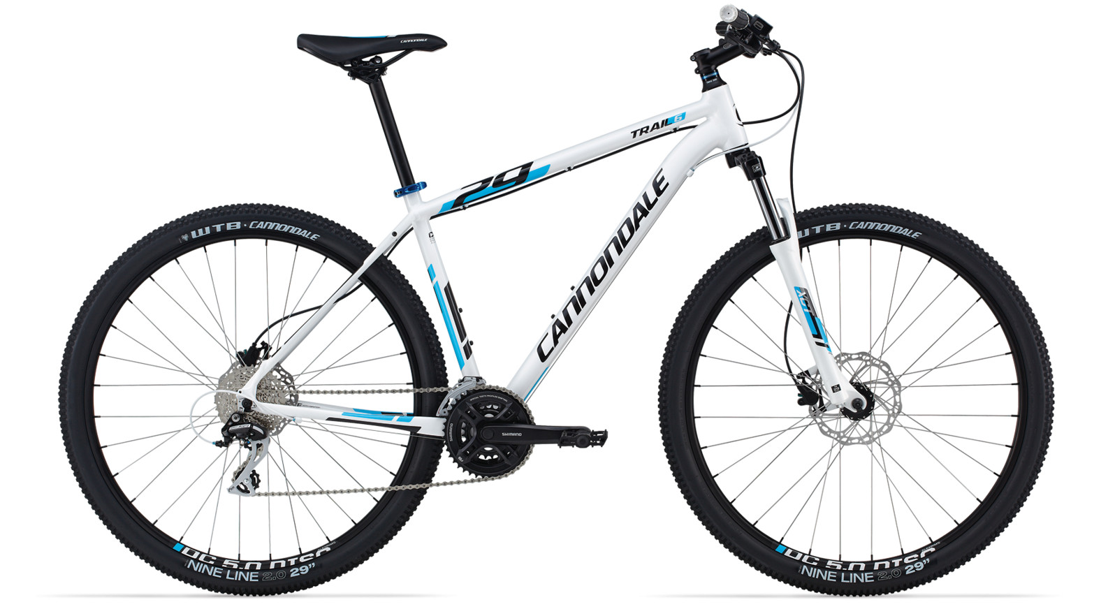 bike - 2014 Cannondale Trail 29 6 - white