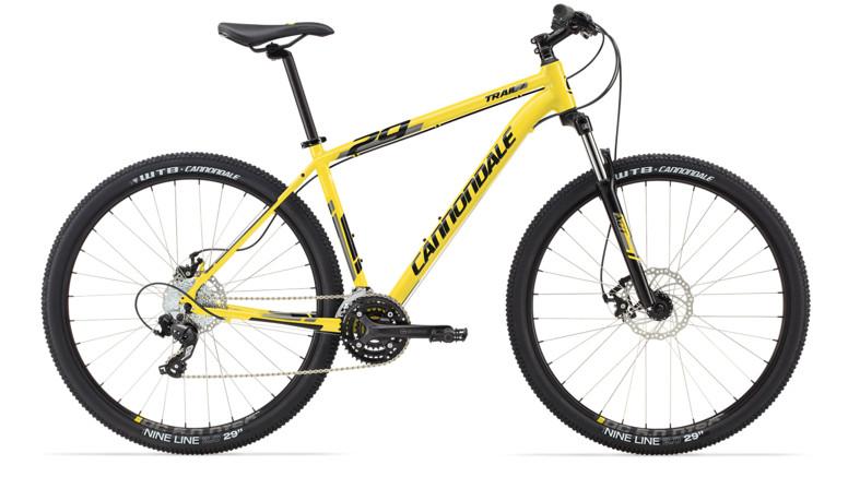 bike - 2014 Cannondale Trail 29 7 - yellow