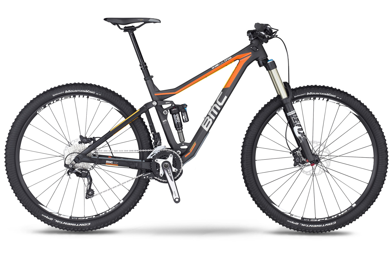 bike - 2014 BMC Trailfox TF02 with SLX Trailcrew