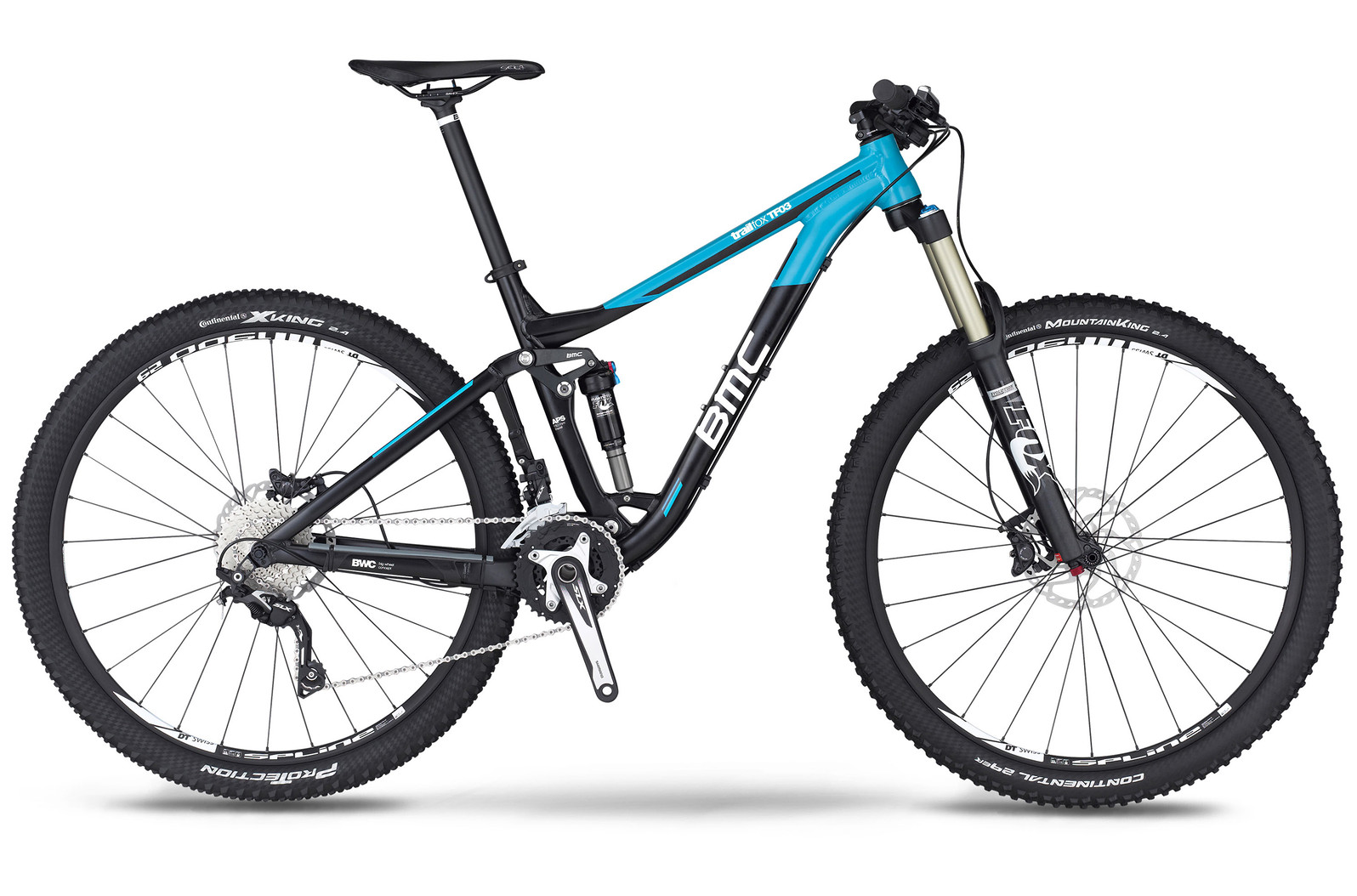 bike - 2014 BMC Trailfox TF03 with SLX