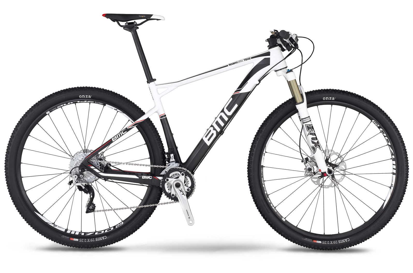 bike - 2014 BMC Teamelite TE02 29 with XT