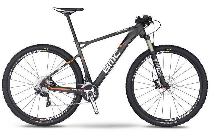 bike - 2014 BMC Teamelite TE02 29 with SLX