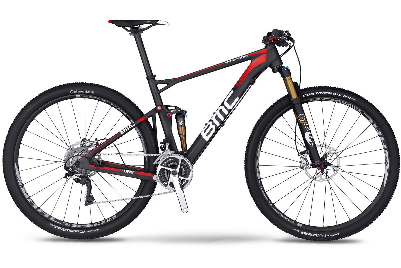 bike - 2014 BMC Fourstroke FS01 29 with XTR