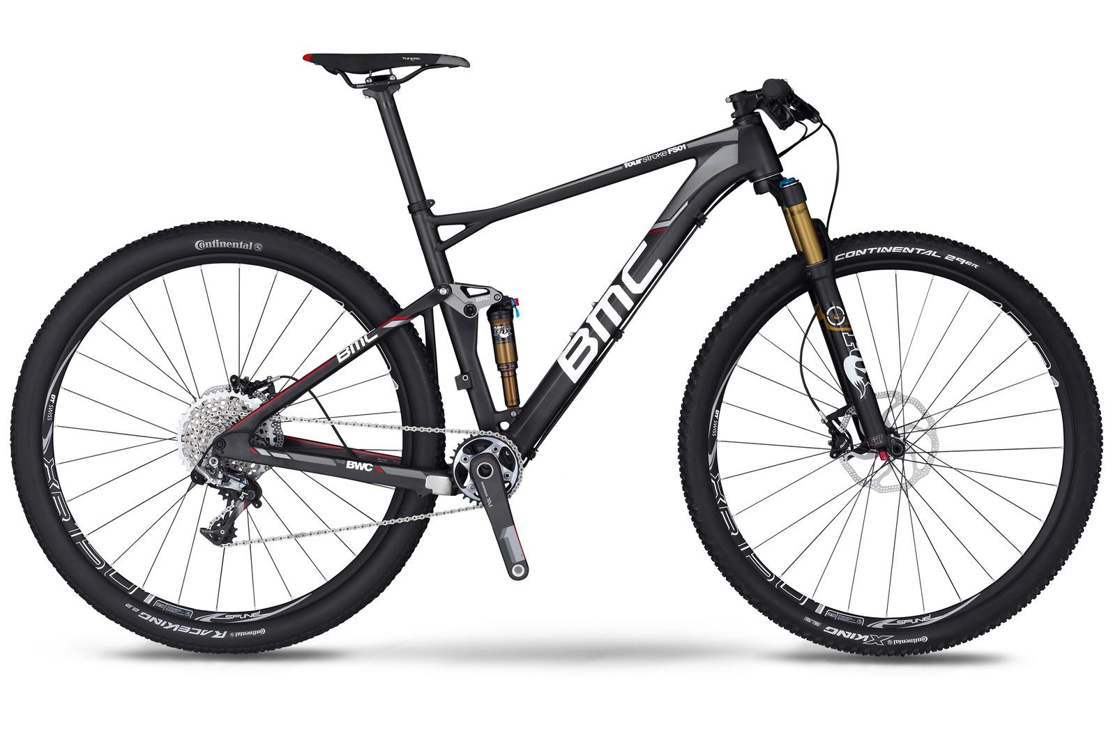 bike - 2014 BMC Fourstroke FS01 29 with XX1