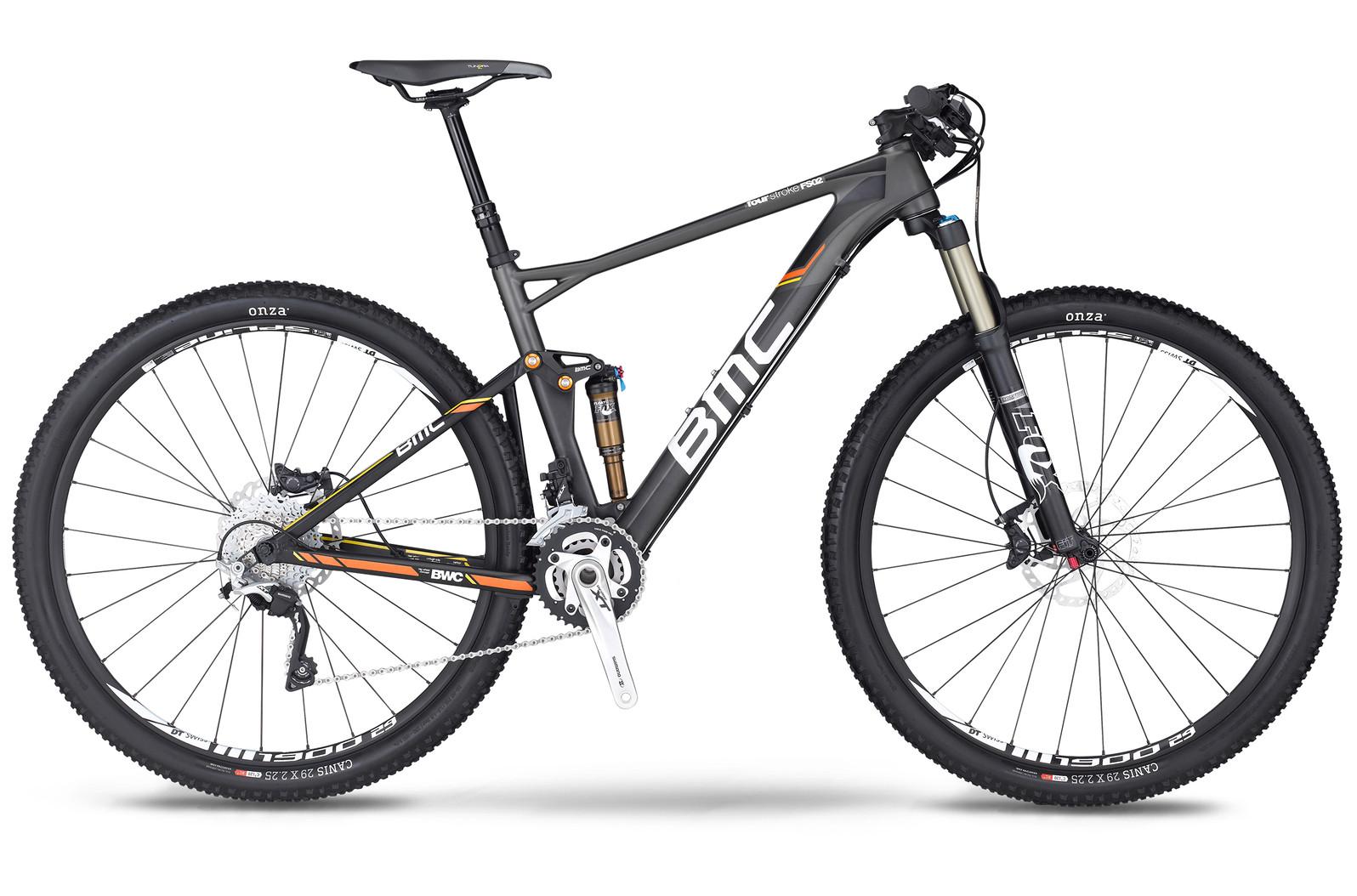bike - 2014 BMC Fourstroke FS02 29 with XT-SLX-Trailcrew