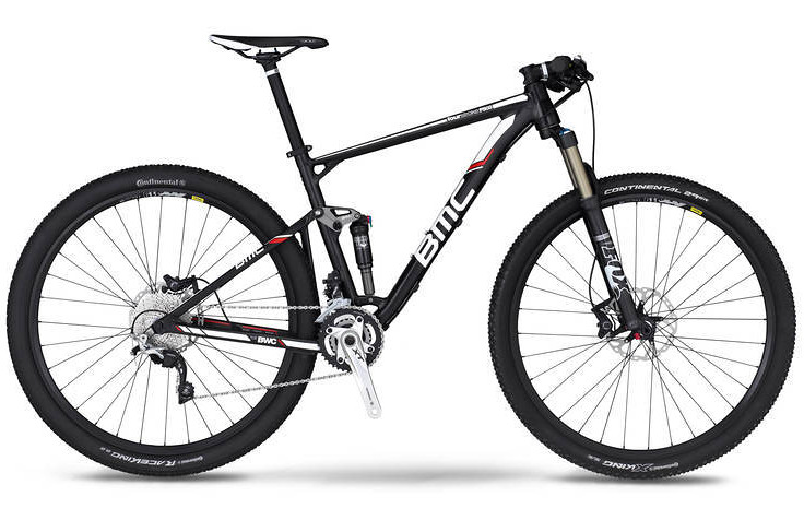 bike - 2014 BMC Fourstroke FS03 29 with XT-SLX