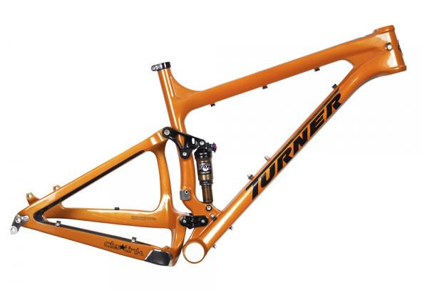 Turner Czar Ver. 1.0 Frame - Gold Dust Orange
