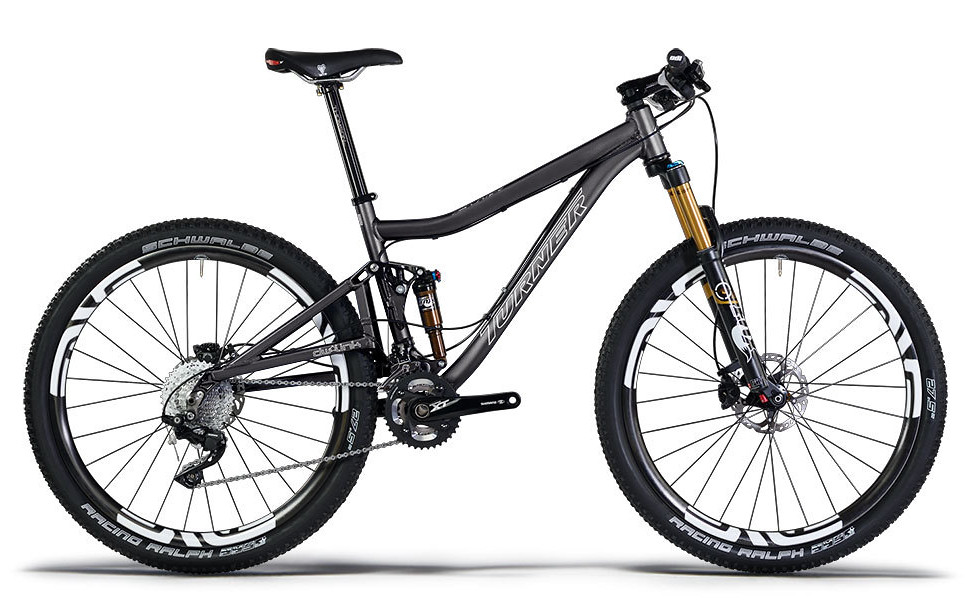Turner Flux Ver. 3.0 Bike - Black