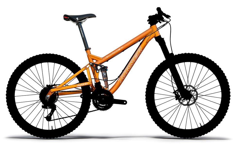 Frame - Turner Burner Ver. 3.0 - Anodised Orange