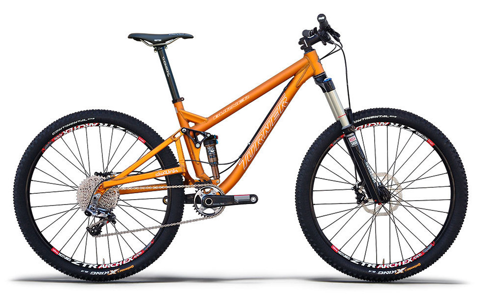 Bike - Turner Burner Ver. 3.0 - Anodised Orange