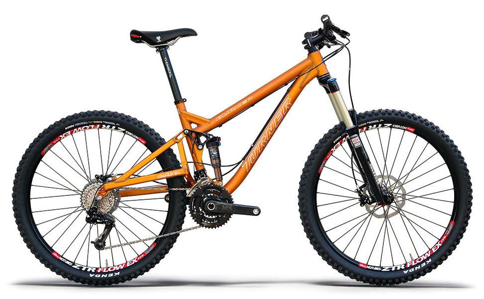 Bike - Turner Burner Ver. 3.0 - Anodised Orange
