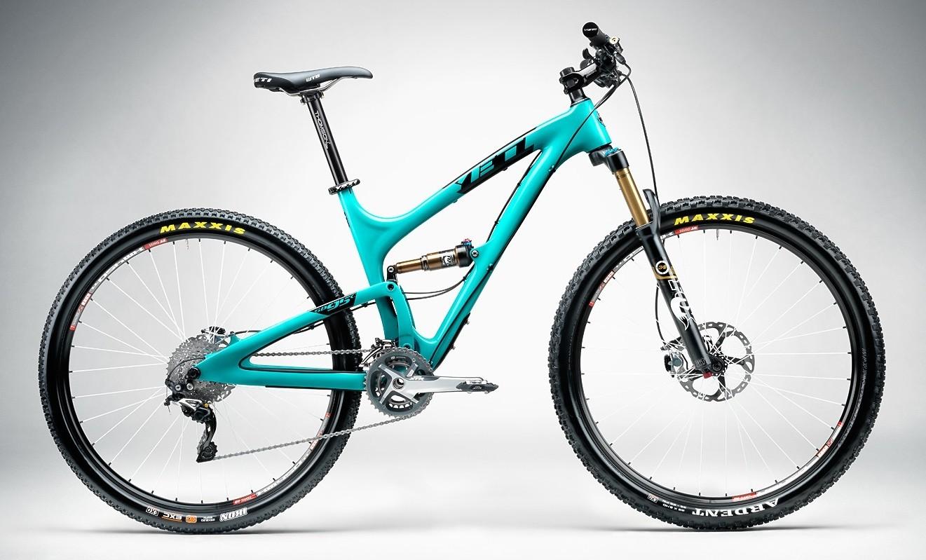 Yeti SB95 Carbon - Turquoise