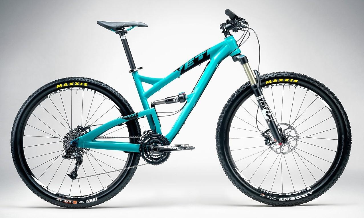 bike - 2014 Yeti SB95 Comp - Turquoise