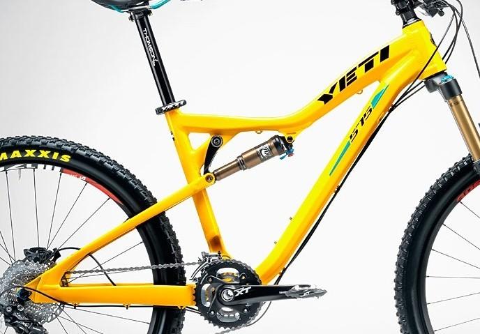 Frame - Yeti 575 - Yellow