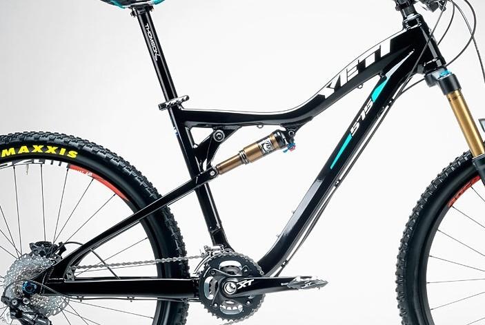 Frame - Yeti 575 - Black