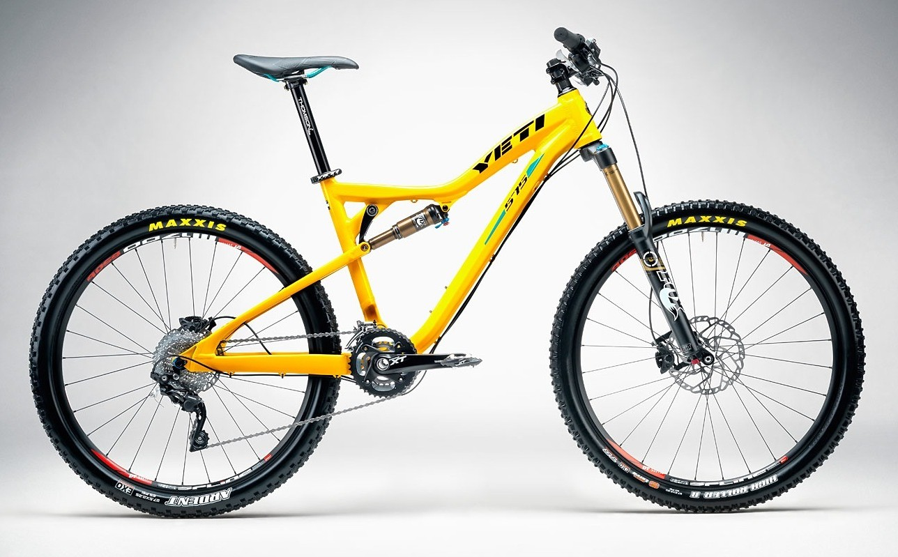 Bike - Yeti 575 - Yellow