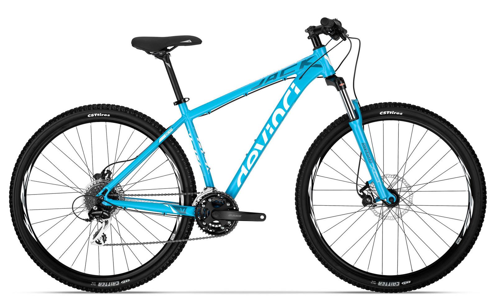 Bike - 2014 Devinci Jack XP - Blue:White