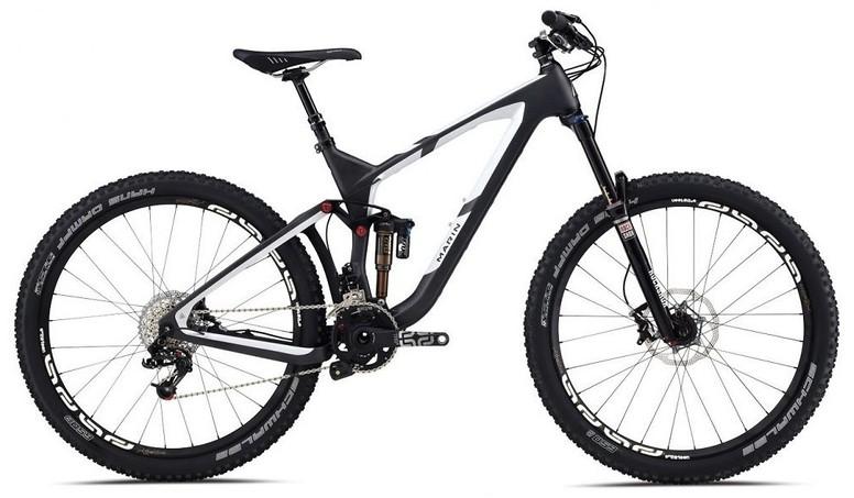 bike - 2014 Marin Attack Trail Quad Carbon XT Pro